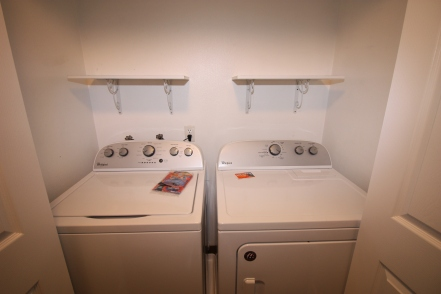 Laundry- Washer and Dryer